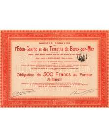 S.A. de l'Eden-Casino et des Terrains de Berck-sur-Mer
