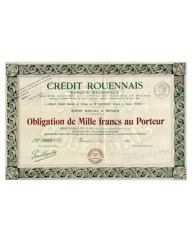 Crédit Rouennais Banque Régionale