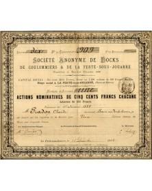 S.A. de Docks de Coulommiers & de la Ferté-sous-Jouarre
