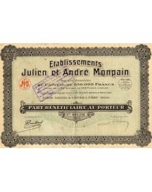 Ets Julien et André Monpain