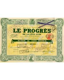 S.A. Le Progrès de la Côte-d'Or, Journal Républicain Quotidien Burgundy/Côte d'Or 21