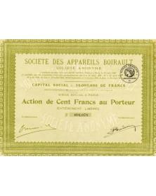 Sté des Appareils Boirault