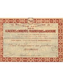 S.A. des Glacières & Entrepôts Frigoriques d'Auvergne