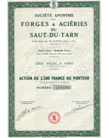 Forges & Aciéries du Saut-du-Tarn
