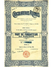 Chocolateries Réunies