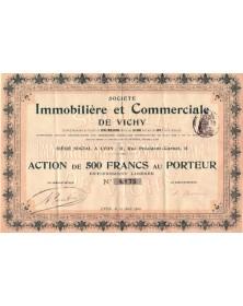 Sté Immobilière et Commerciale de Vichy