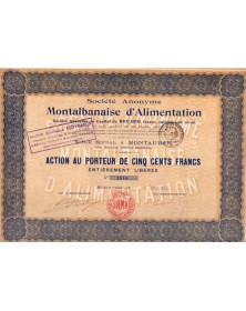 S.A. Montalbanaise d'Alimentation
