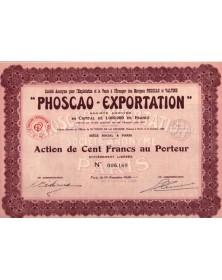 ''Phoscao-Exportation''