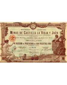 Minas de Castilla La Vieja y Jaen