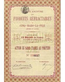 Sté des Produits Réfractaires de Cinq-Mars-La-Pile (Indre et Loire)