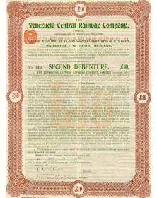 The Venezuela Central Railway Co, Ltd.