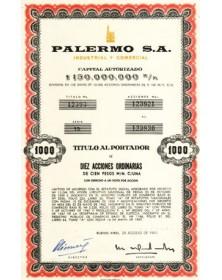 Palermo S.A. Industrial y Comercial