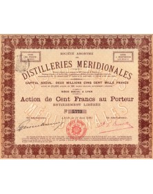 S.A. des Distilleries Méridionales