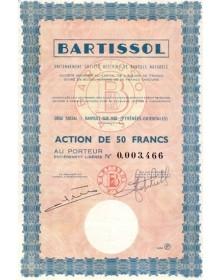 Bartissol, anciennement Sté des Vins de Banyuls Naturels