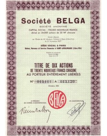 Sté Belga