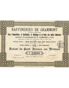 Raffineries de Grammont. Anciens Ets Lesourd