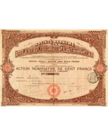 Sté Anonyme des Eaux Minérales Naturelles de Saint-Parize-Le-Chatel