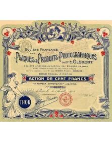 Plaques & Produits Photographiques