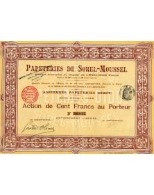 Papeteries de Sorel-Moussel (anc.Papeteries Didot)