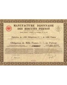 Manufacture Dijonnaise des Biscuits Pernot
