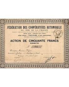 Fédération des Coopératives Automobile du Midi de la France