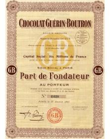 Chocolat Guérin-Boutron