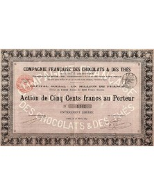 Cie Française des Chocolats & des Thés