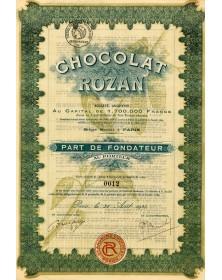 Chocolat Rozan