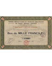 Terres Réfractaires et Produits Céramiques de St-Michel d'Euzet