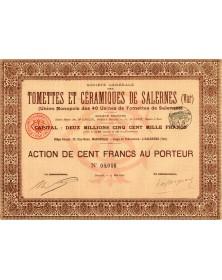 Tomettes & Céramiques de Salernes (Var)