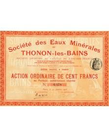 Sté des Eaux Minérales de Thonon-les-Bains