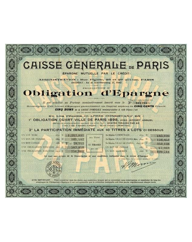 Caisse Générale de Paris
