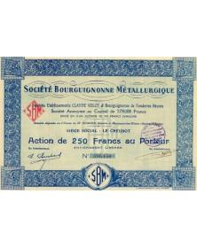 Sté Bourguignonne Métallurgique