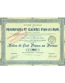 Sté Nouvelle des Frigorifiques & Glacières d'Aix-les-Bains