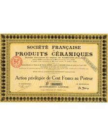 Sté Française de Produits Céramiques