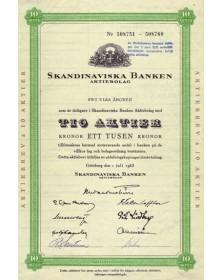 Skandinaviska Banken Aktiebolag