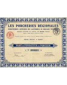 Les Porcheries Régionales, Annexes des Laiteries du Bocage Vendéen