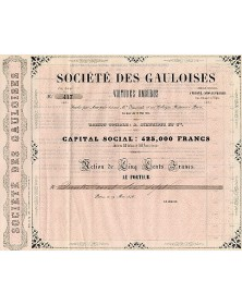 Sté des Gauloises, Voitures Omnibus, A. Schneider et Cie