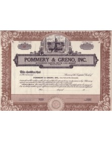 Pommery & Greno, Inc.