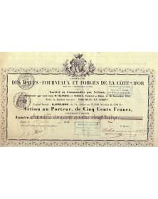 Cie des Hauts-Fourneaux et Forges de la Côte-d'Or