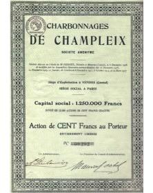 Charbonnages de Champleix
