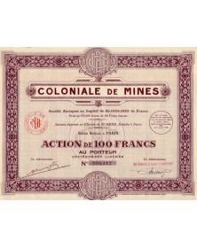 Coloniale de Mines
