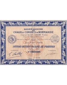 Sté Anonyme des Chaux et Ciments de Normandie