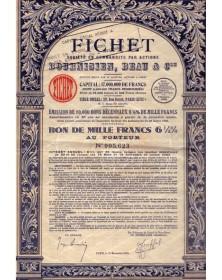 Fichet, Sté en Commandite par Actions Bournisien, Beau & Cie