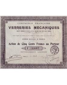 Cie Française de Verreries Mécaniques
