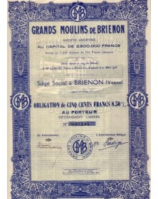 Grands Moulins de Brienon