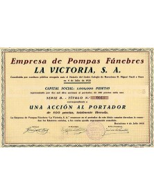Empresa de Pompas Funebres ''La Victoria, S.A.''
