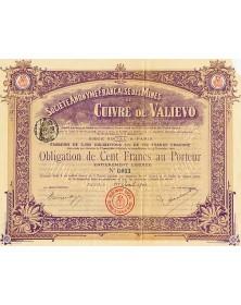 S.A. Française des Mines de Cuivre de Valievo