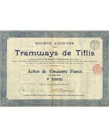 Sté Anonyme des Tramways de Tiflis