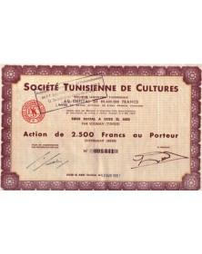 Sté Tunisienne de Cultures